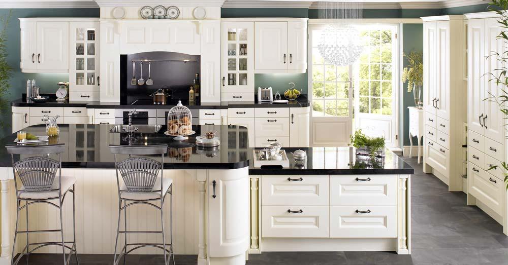 Beyaz lake mutfak dolabı modelleri